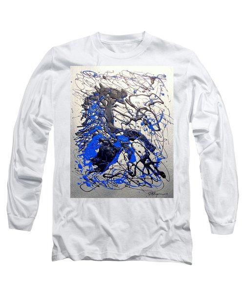 Azul Diablo Long Sleeve T-Shirt by J R Seymour