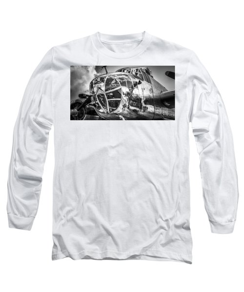 B-25 - Bw Series 2 Long Sleeve T-Shirt