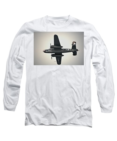 B-25 Fly By Long Sleeve T-Shirt