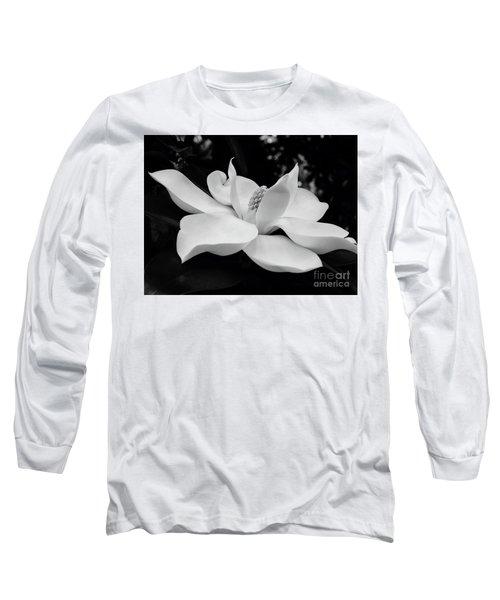 B W Magnolia Blossom Long Sleeve T-Shirt