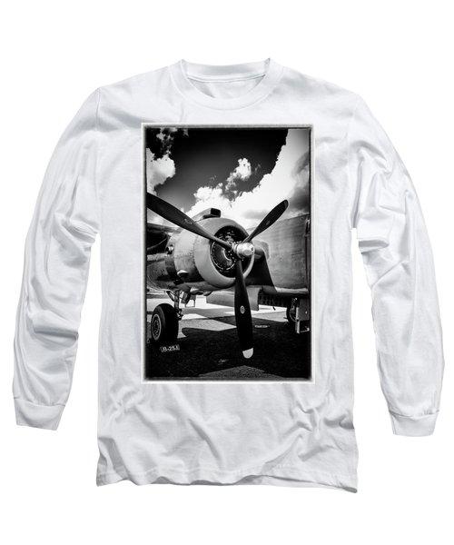 B25 Radial Engine Long Sleeve T-Shirt