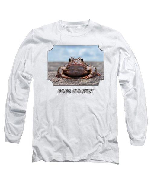 Babe Magnet - Blues Long Sleeve T-Shirt
