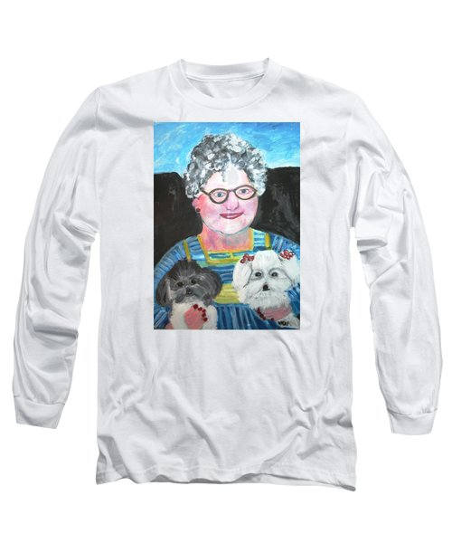 Babka, Puppies Long Sleeve T-Shirt