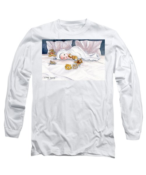 Baby And Friends Long Sleeve T-Shirt by Melly Terpening