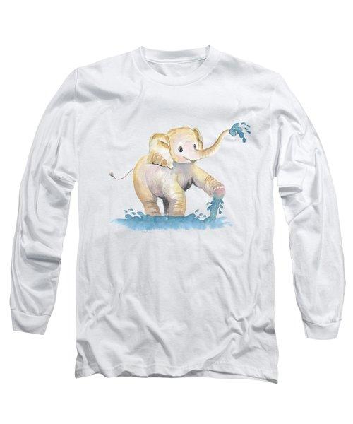 Baby Elephant 2 Long Sleeve T-Shirt
