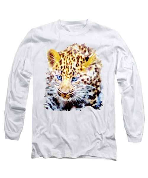 Baby Leopard Long Sleeve T-Shirt