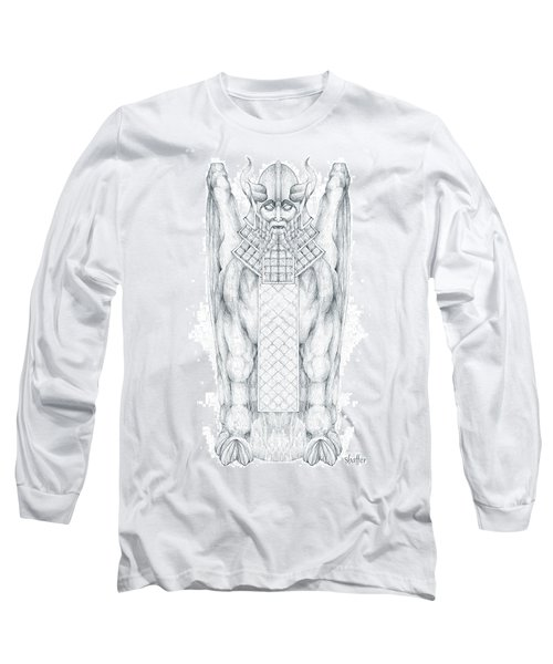 Babylonian Sphinx Lamassu Long Sleeve T-Shirt
