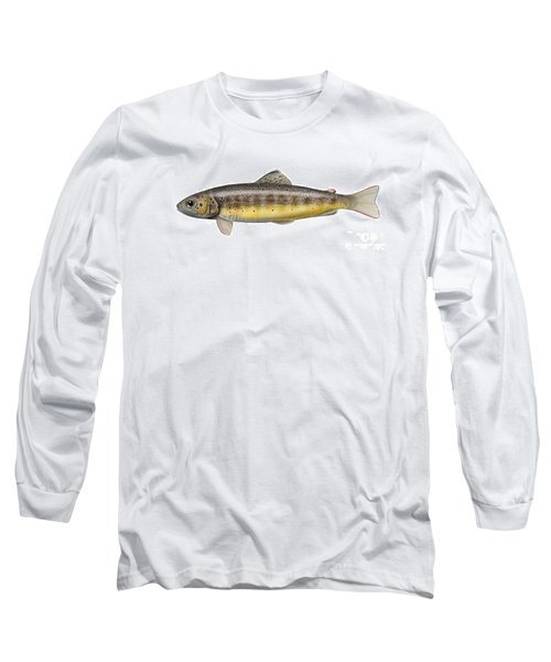 Bachforelle - Indigene - Autochthone- Beekforel - Oering - Truite De Riviere - Trucha Comun Long Sleeve T-Shirt