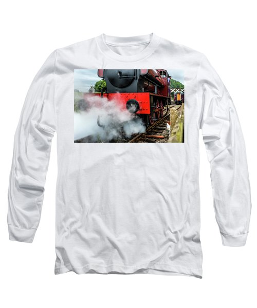 Long Sleeve T-Shirt featuring the photograph Back It Up by Nick Bywater