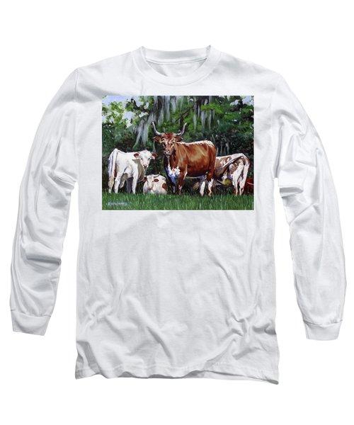 Back Off Long Sleeve T-Shirt