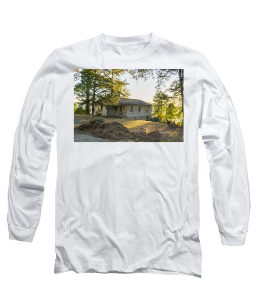 Back Porch Sunset Long Sleeve T-Shirt by Ricky Dean