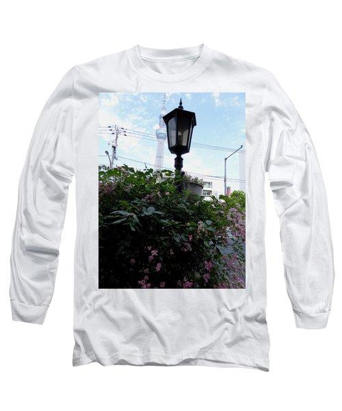 Back Street In Tokyo Long Sleeve T-Shirt