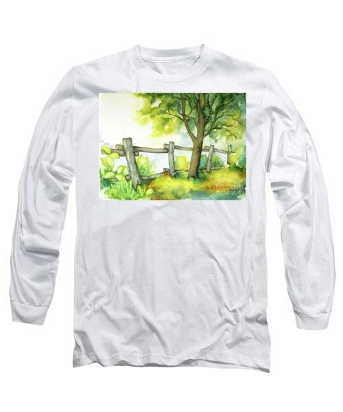 Backyard 1 Long Sleeve T-Shirt