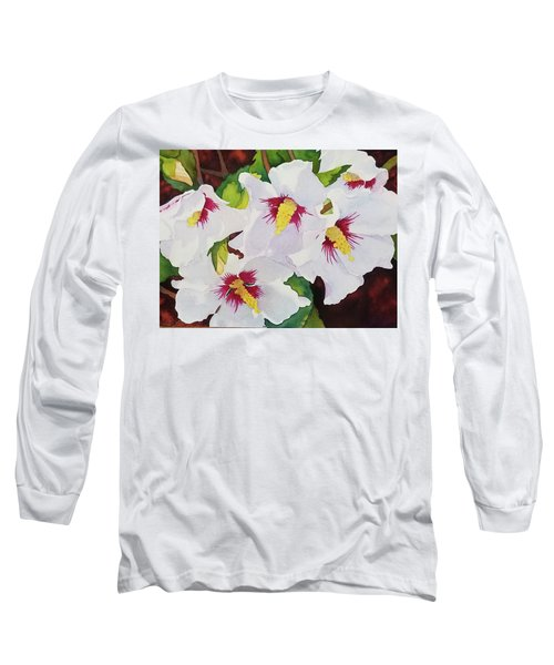Backyard Blooms Long Sleeve T-Shirt