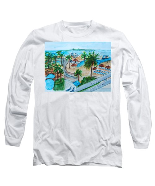 Bahamas Balcony Long Sleeve T-Shirt