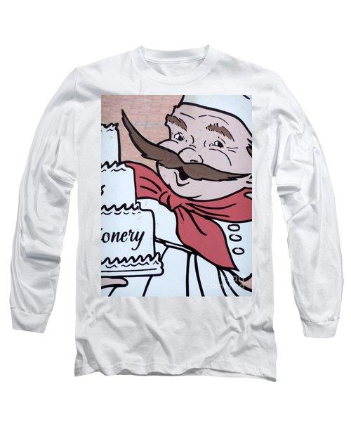 Baker Long Sleeve T-Shirt by Valerie Reeves