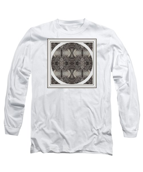 Balance Expressed In Black And White Long Sleeve T-Shirt