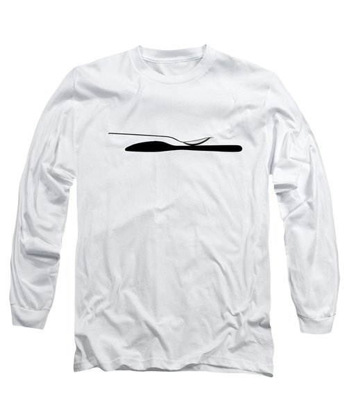 Long Sleeve T-Shirt featuring the photograph Balancing Spoon by Gert Lavsen