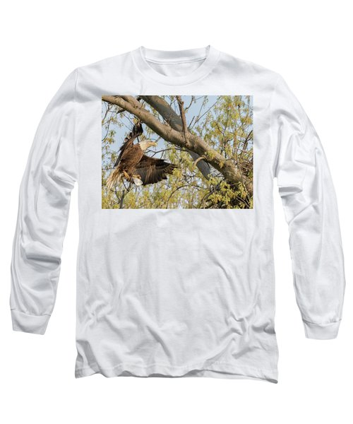 Bald Eagle Catch Of The Day  Long Sleeve T-Shirt