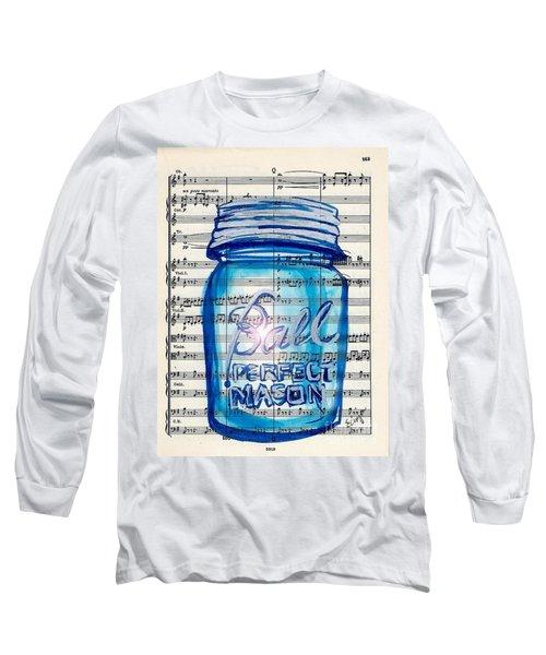Ball Mason Jar Classical #168 Long Sleeve T-Shirt