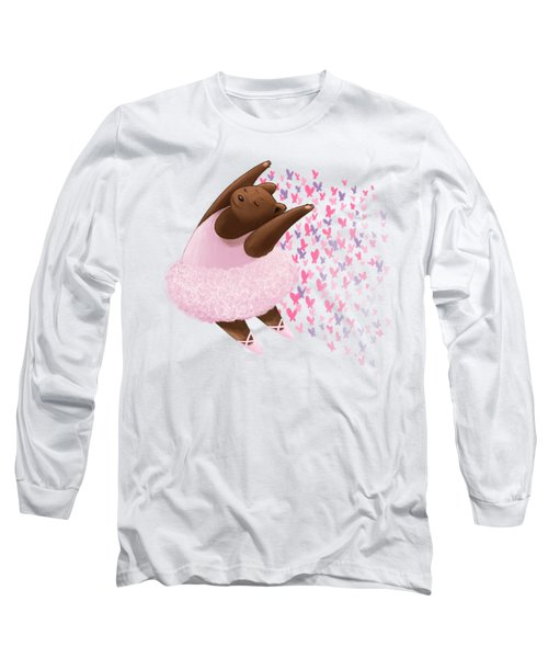 Ballet Bear Long Sleeve T-Shirt