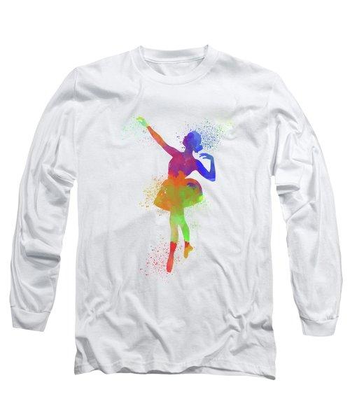 Ballet Watercolor 1 Long Sleeve T-Shirt