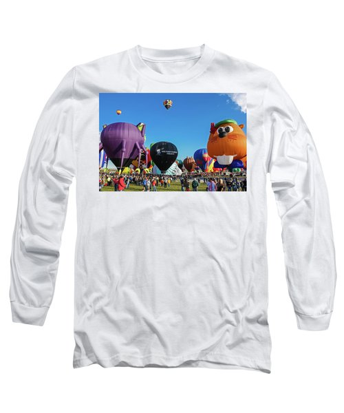 Balloon Fiesta Albuquerque I Long Sleeve T-Shirt