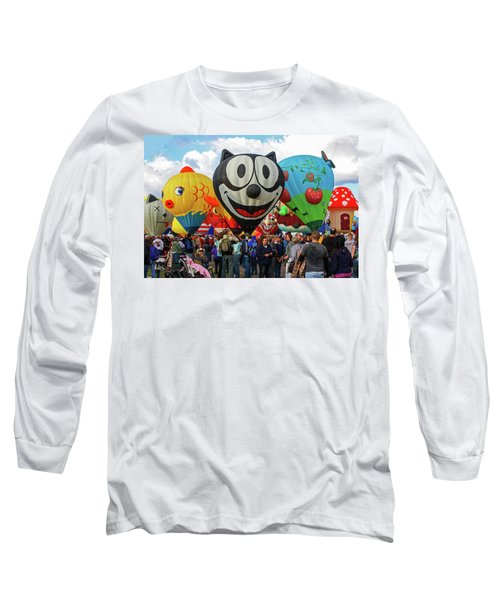 Balloon Fiesta Albuquerque II Long Sleeve T-Shirt