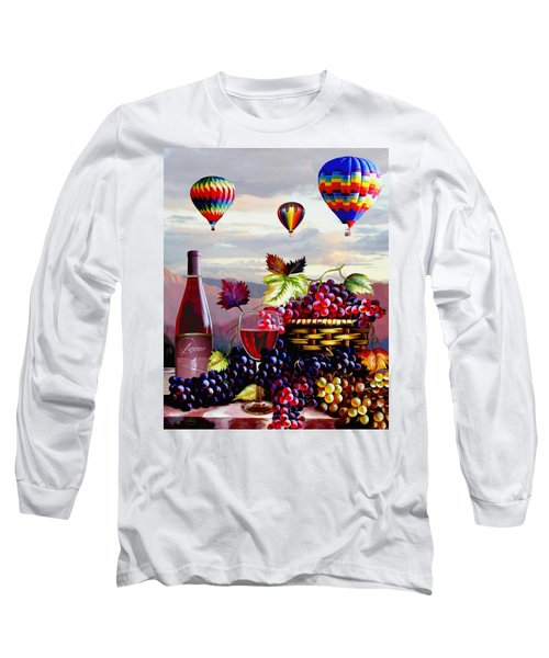Balloon Ride At Dawn Long Sleeve T-Shirt