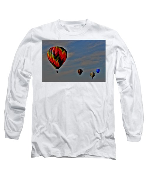 Balloons In The Sky Long Sleeve T-Shirt
