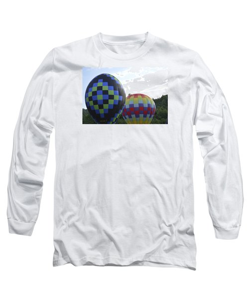 Balloons Waiting For The Weather To Clear Long Sleeve T-Shirt