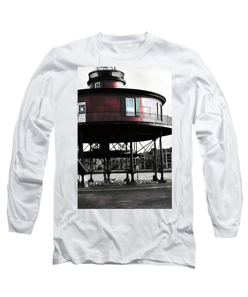Baltimore Lighthouse Long Sleeve T-Shirt