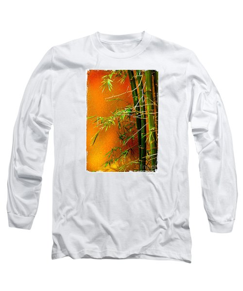 Long Sleeve T-Shirt featuring the photograph Bamboo by Linda Olsen
