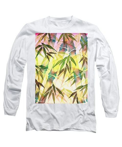 Bamboo Sunrise Long Sleeve T-Shirt