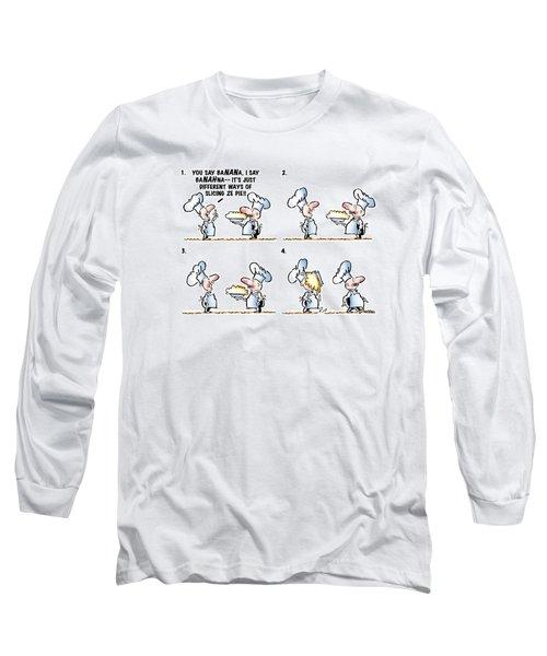 Banana Cream Pie Long Sleeve T-Shirt