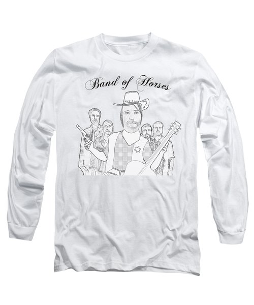 Band Of Horses Long Sleeve T-Shirt