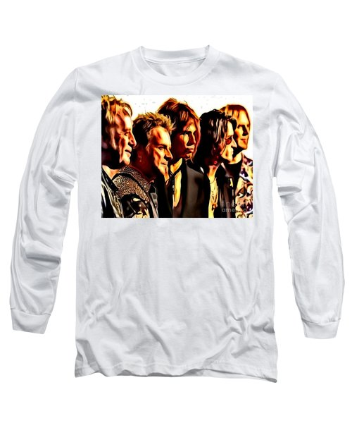 Band Who Long Sleeve T-Shirt