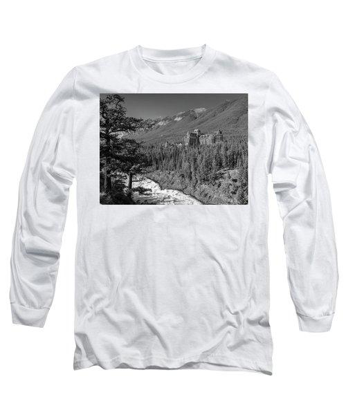 Banff Springs Hotel Long Sleeve T-Shirt