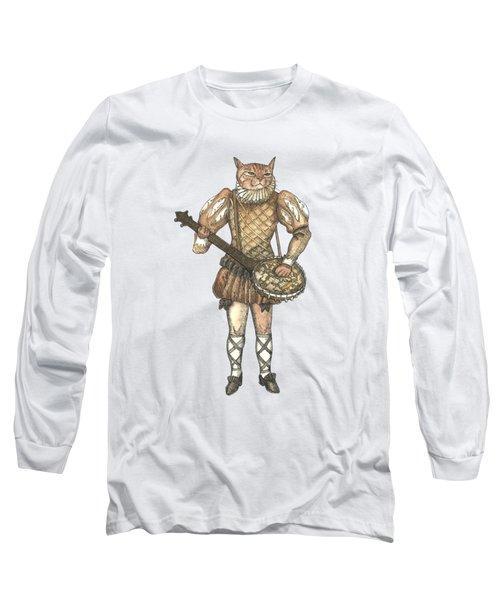 Banjo Cat Long Sleeve T-Shirt