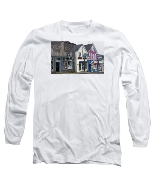 Long Sleeve T-Shirt featuring the photograph Bar Harbor by Helen Haw