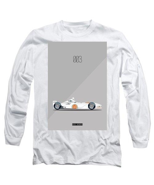 Bar Honda 003 F1 Poster Long Sleeve T-Shirt
