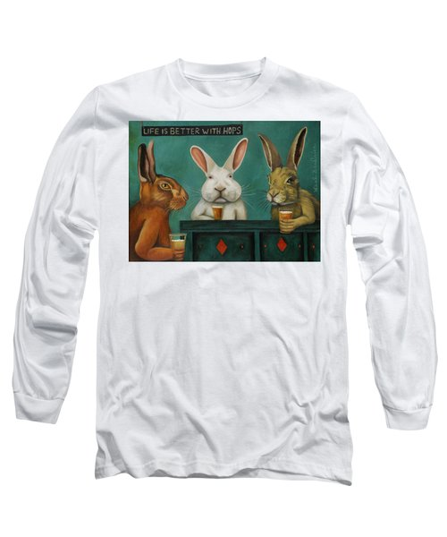 Bar Hopping Long Sleeve T-Shirt