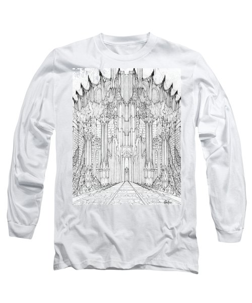 Barad-dur Gate Study Long Sleeve T-Shirt