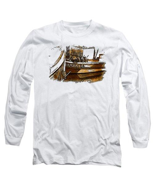 Barbara Earthy 3 Dimensional Long Sleeve T-Shirt