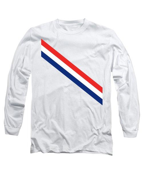 Barber Stripes Long Sleeve T-Shirt
