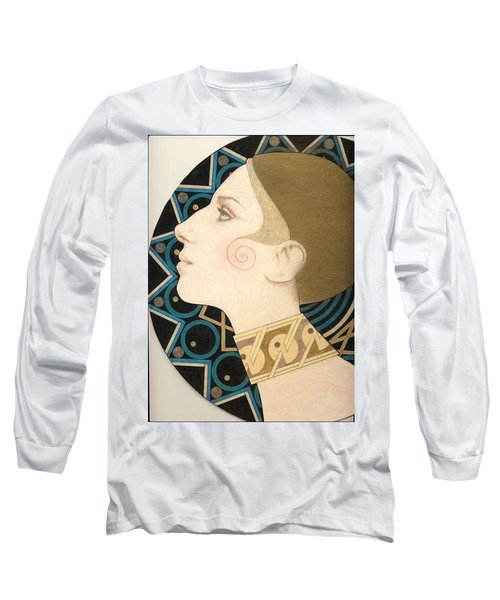 Barbra Long Sleeve T-Shirt by Richard Laeton