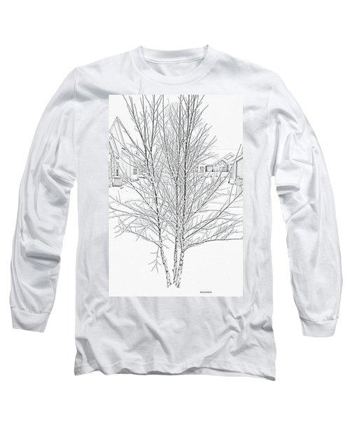 Bare Naked Tree Long Sleeve T-Shirt