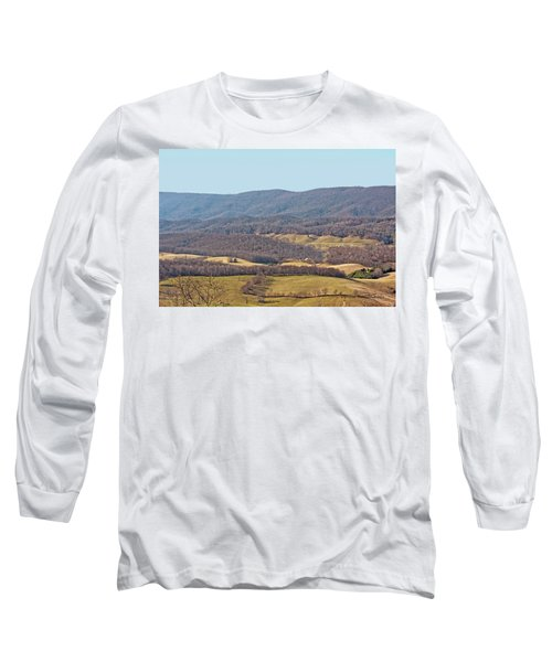 Long Sleeve T-Shirt featuring the photograph Bare Winter by Denise Romano