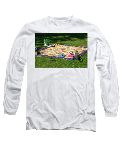 Barefoot In The Grass Long Sleeve T-Shirt