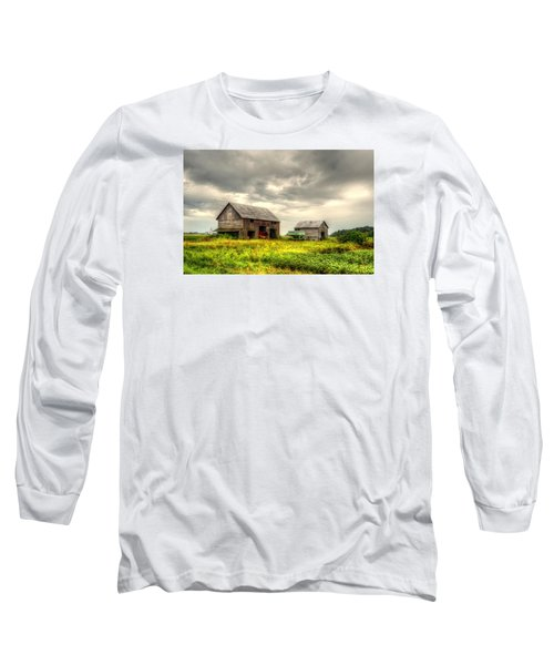 Barn And Sky Long Sleeve T-Shirt
